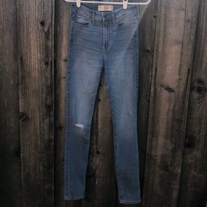 Hollister super skinny high rise